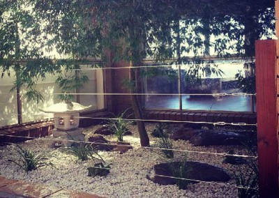 A Japanese-inspired feature garden in Calwell