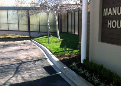 Retirement home landscaping maintenance