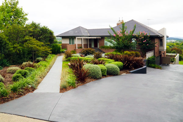 Canberra landscape design and construction for Landscape design canberra