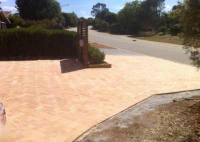 Driveway paving in Florey, Canberra