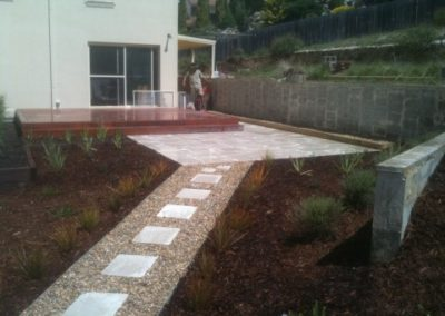 Paving and pathway