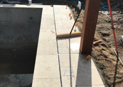 Block drain installation