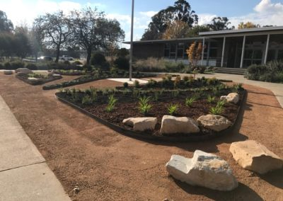 A welcoming entry for Majura Primary School